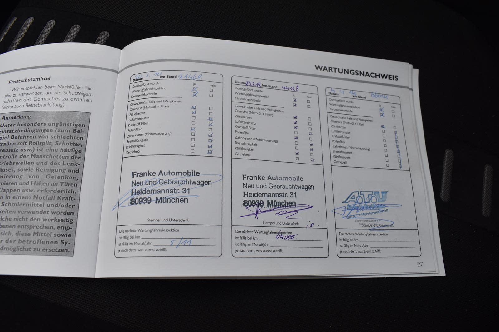 Fiat Punto Grande Punto 1.4 T-Jet 16v Sport Onderhoudsboekje
