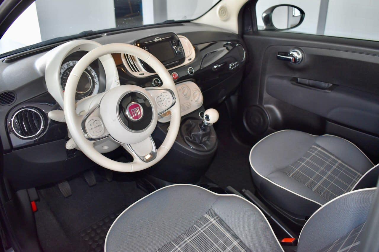 Fiat 500 1.2 Lounge PANO/NAVI/PDC/ECC